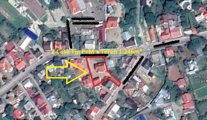 poza 2 Case P+M - 508m² + Teren - 1.246m², Radauti