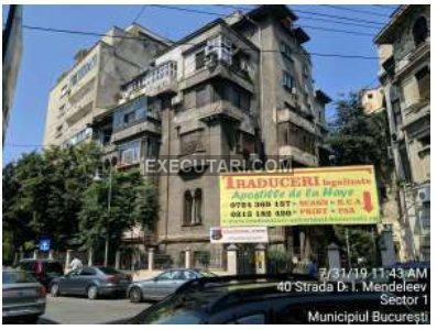 poza Apartament 1 camera - 49m², Demisol  Sector 1