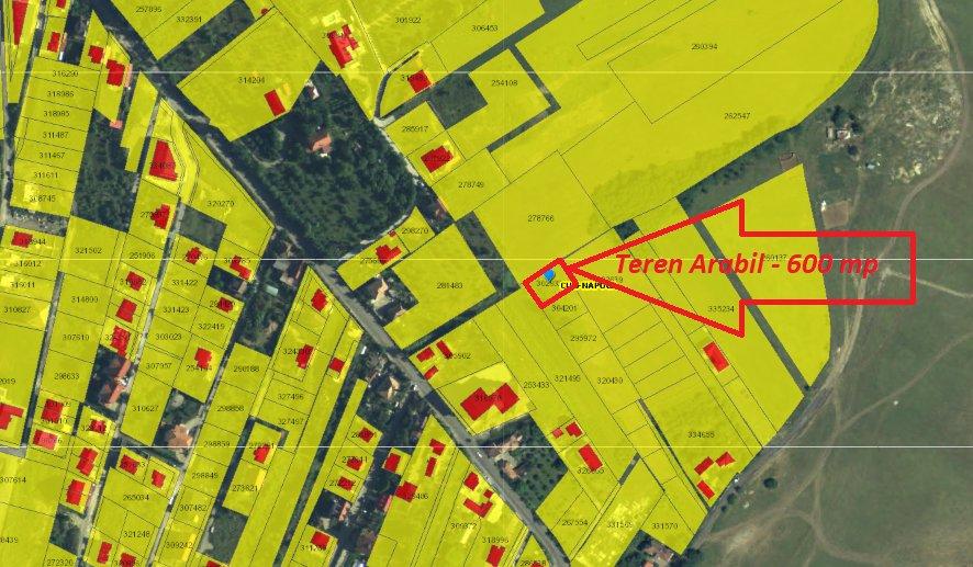 poza Colonia Borhanci - Teren arabil - 600 m²