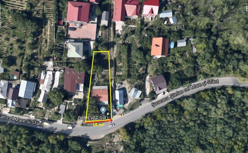 poza Constructie neintabulata + Teren - 933m², Iasi