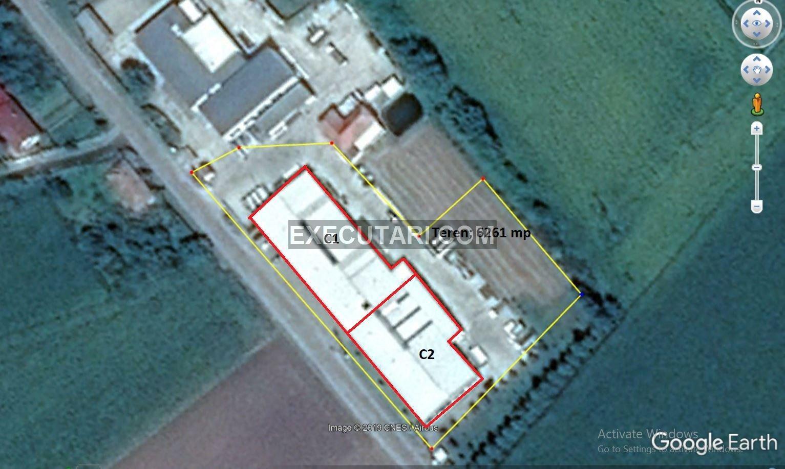 poza Hala de productie- 2,311 m² + Teren- 6261 m²----AFACERE LA CHEIE---SANISLAU