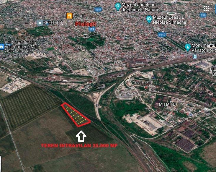 poza PLOIESTI CENTURA VEST - MIMIU - Teren intravilan 35,000 m² - SUPER OFERTA