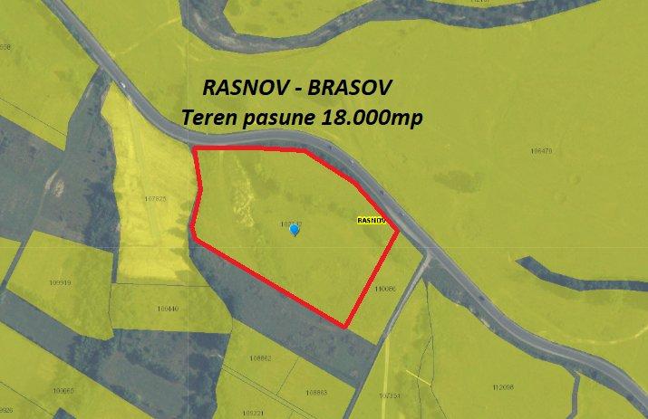 poza RASNOV - BRASOV Teren pasune 18.000mp