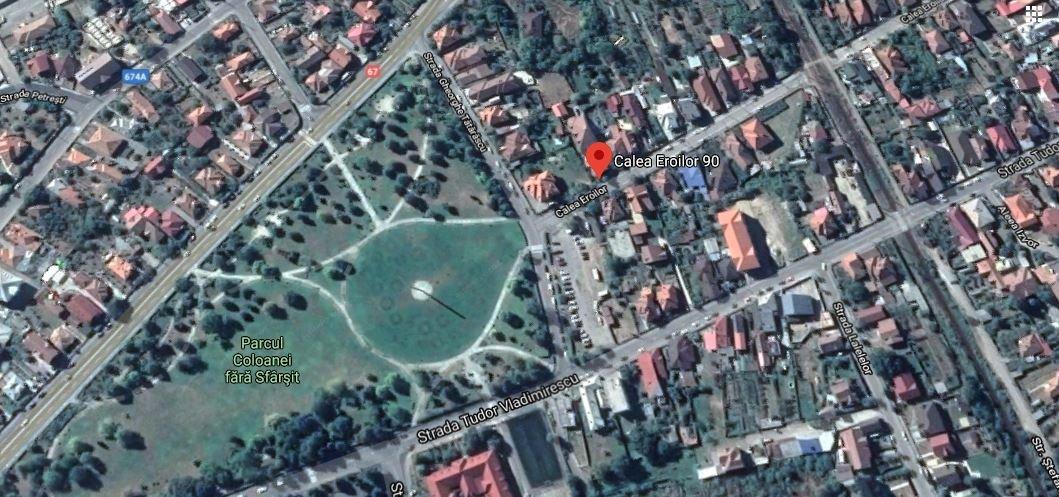 poza TARGU JIU- EROILOR Vila P+1+M de 479 m² + Teren - 343 m²