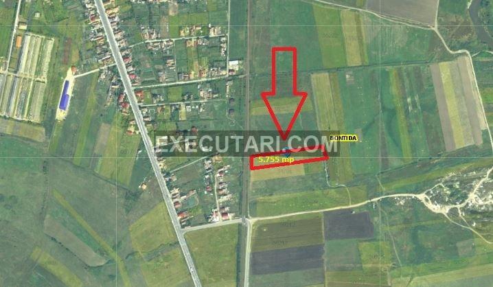 poza Teren arabil - 5.755 m², Bontida