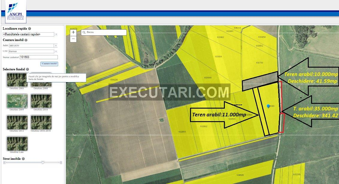 poza Teren arabil de 11.000  m²