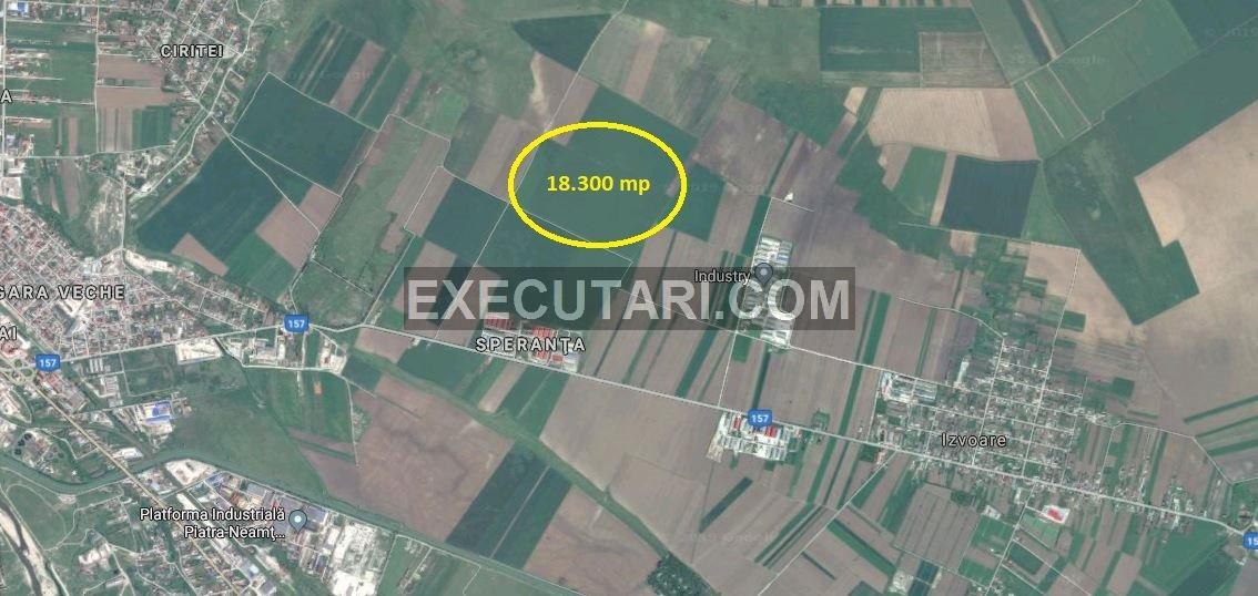 poza Teren extravilan arabil - 18.300 m²