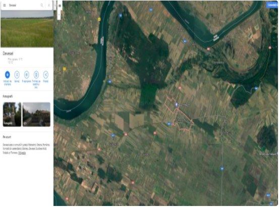 poza Terenuri extravilane  - 85.500m², Devesel