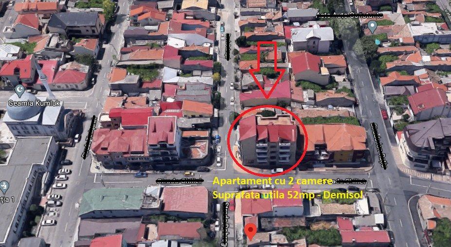 poza Tomis II - Apartament cu 2 camere - 52mp - Demisol - Piata Chiliei